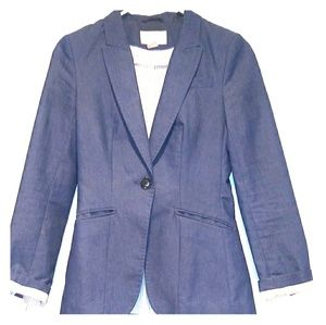 H&M Denim Look Blazer